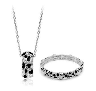 Леопардовый комплект с браслетом