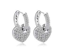 Сережки Chanel Серце