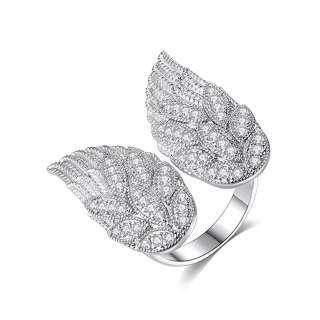 Кольцо ангельские крылья