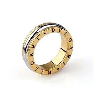 Лимонное кольцо Bvlgari