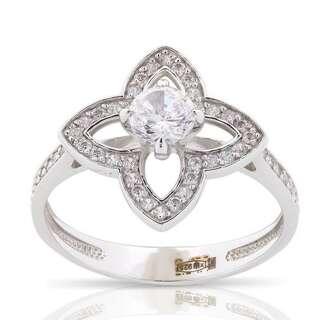 Серебряное кольцо Van Cleef