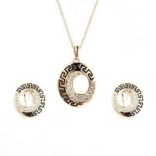 Набор c камнями Сваровски в стиле Versace