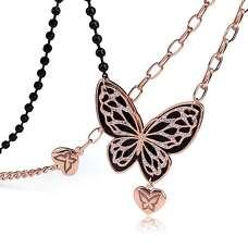 Масивна підвіска великий метелик із Swarovski
