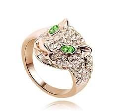Кольцо Леопард