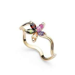 Кольцо Нежный цветок