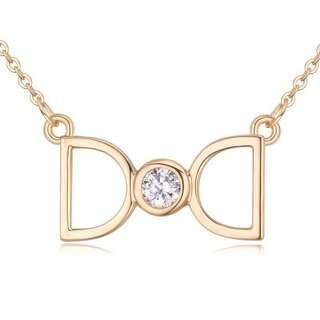Серебряная подвеска реплика Dior в позолоте
