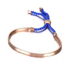Браслет реплика Michael Kors с синим шнурком